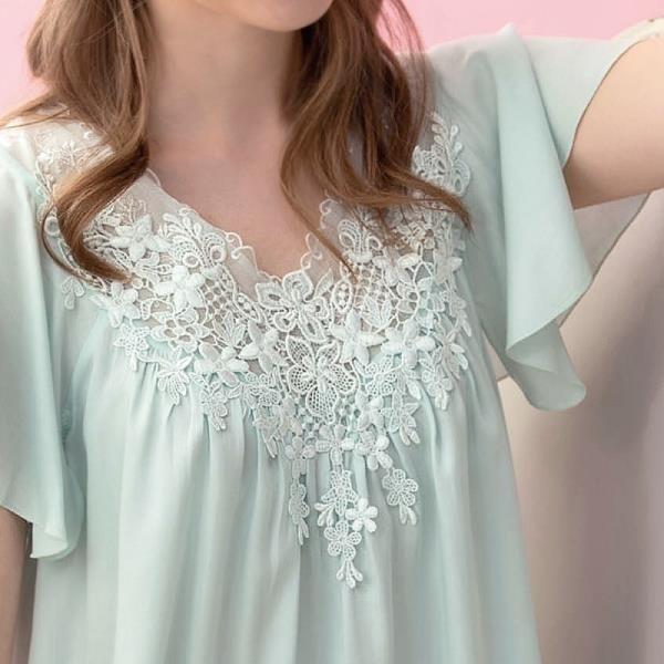 【南紡購物中心】ROSEMAID羅絲美 Rayon系列短袖衣褲綠色19148