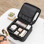 大容量化妝包網紅同款防水旅行洗漱手提化妝箱便攜化妝品收納包
