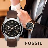 FOSSIL 美式復古風格時尚腕錶 FS4813