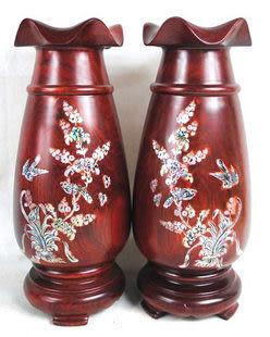 紅木雕 工藝品 擺件 臺面花瓶