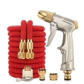 現貨-多用途高壓彈力3倍伸縮水管-包括水槍(10公尺彈力管,注水前10公尺→注水後30公尺)