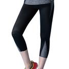 思薇爾-K.K.Fit系列M-XL高腰七分外搭褲(黑色)