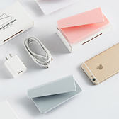 ♚MY COLOR♚黏貼式手機充電支架 插座 平板 3C 懸掛 放置 牢固 安全 方便 防滑 集線【H52】黏貼