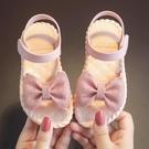 女童涼鞋 兒童涼鞋女夏季公主鞋軟底沙灘寶貝鞋室內外防滑大小童女童鞋新款-Ballet朵朵