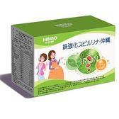 (買三送一,可混搭)日比野沖繩藻鐵+葉酸+B群-60顆入(植物性膠囊)【六甲媽咪】