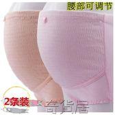 純棉孕婦內褲彈力高腰托腹可調節
