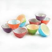 Signature 彩繪陶瓷碗10件組