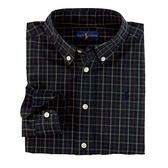 Polo Ralph Lauren 襯杉西裝長袖上衣 深藍網格 | 男童衣服(兒童/小孩/幼童)
