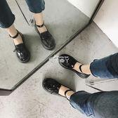 學生小皮鞋復古百搭軟妹圓頭學院風韓版英倫娃娃鞋女 俏腳丫