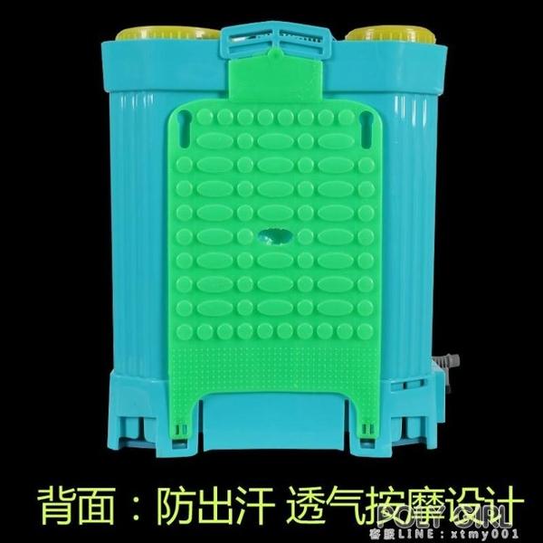 電動噴霧器農用高壓背負式新式背式消毒鋰電池電動噴壺小型打藥機 ATF poly girl