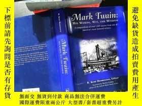 二手書博民逛書店Mark罕見Twain: His Words, Wit, and Wisdom .Y167411