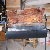 烤全羊爐大號加厚燒烤爐戶外無煙木炭燒烤5人以上烤乳豬羊腿烤架