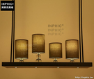 INPHIC- 現代簡約美式客廳餐廳咖啡廳吧台創意鐵藝長方形led吊燈_S197C