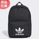 【現貨】Adidas Adicolor Classic 背包 後背包 休閒 水壺袋 三葉草 黑【運動世界】GD4556