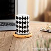 保溫墊 USB水杯保溫杯墊辦公室電腦咖啡杯墊加熱底座迷你型暖奶器恒溫寶220v 晶彩生活