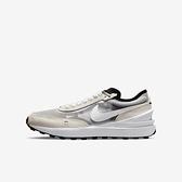 Nike Waffle One Gs [DC0481-100] 大童鞋 運動 休閒 復古 小Sacai 穿搭 灰 白