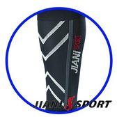 [JIANI SPORT]協會指定MST檢驗款/運動壓力小腿套/JS11/黑色/登山/慢跑/超馬/自行車/三鐵/球類/各類運動
