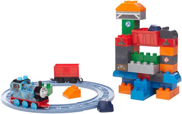 玩具反斗城  MEGA BLOKS美高-湯瑪士小火車袋裝主題積木