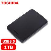 [富廉網] 【Toshiba】Canvio Basic 黑靚潮II 1TB 2.5吋 行動硬碟 (HDTB310AK3AA)
