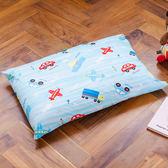 枕頭/ 兒童枕-防蹣抗菌乳膠枕/精梳棉/夢想號/美國棉授權品牌[鴻宇]台灣製-1573