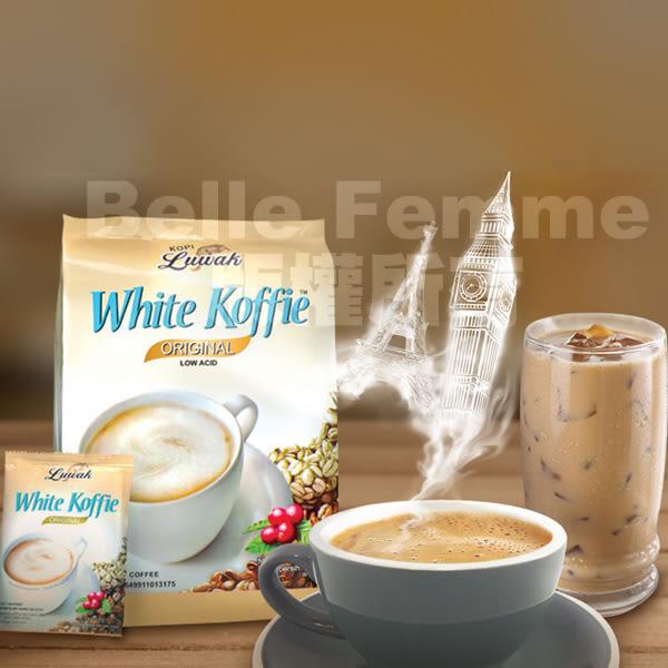 印尼 Luwakm 三合一白咖啡 一袋入 (20gx20包)【PQ 美妝】