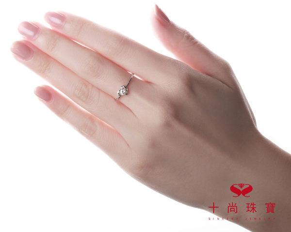 Amour 系列 - 天然鑽石戒指  十尚珠寶