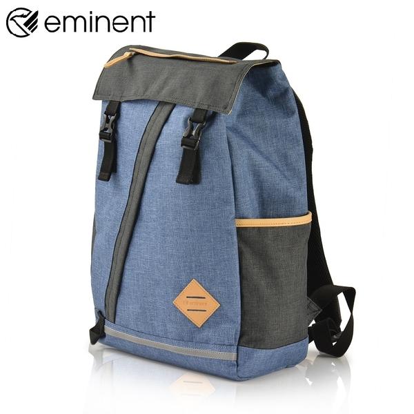 eminent 丹寧風輕巧18吋後背包 66498A (藍)