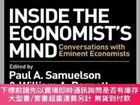 二手書博民逛書店預訂Inside罕見The Economist S Mind - Conversations With Emine