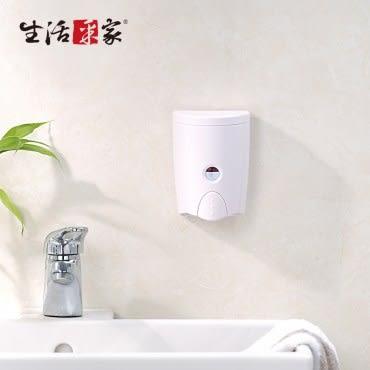 【生活采家】幸福手感時尚白580ml單孔手壓式給皂機(#47017)