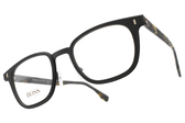 HUGO BOSS 光學眼鏡 HB0969 YZ4 (霧深棕-霧琥珀) 男士精品簡約款 # 金橘眼鏡