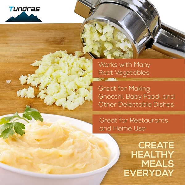 [9美國直購] Stainless Steel Potato Ricer Manual Masher for Potatoes Fruits Vegetables