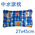 【中長方形水枕頭】南亞系列 水晶涼墊 中枕頭 水坐墊 水床 水墊 涼水枕 台灣製造 [百貨通]