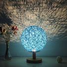 小夜燈 簡約現代台燈臥室床頭燈創意浪漫小夜燈插電創意夢幻迷你節能護眼  居優佳品