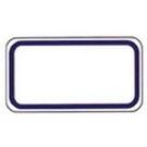 《享亮商城》1074 方形藍框 14*26mm(340片)  鶴屋