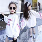 女童衛衣 2018秋裝新款韓版休閑外套童裝洋氣衛衣 JA3294『美鞋公社』