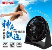 《長宏》HERAN禾聯9吋循環扇渦流扇【HAF-09N1】可調式兩段風速~可刷卡,免運費~
