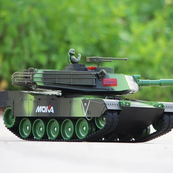 超大號遙控坦克履帶式可發射開炮對戰充電動越野汽車兒童男孩玩具 瑪麗蘇DF