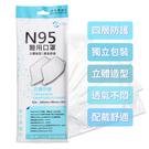 善存 N95醫用口罩 成人專用 5片裝 【DDBS】