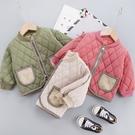 女童棉服 兒童棉衣秋冬新款寶寶棉服男女童內膽面包服洋氣保暖上衣外套-Ballet朵朵