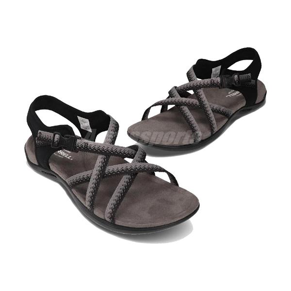 [Merrell] (女) DISTRICT MURI LATTICE 涼鞋 黑/灰 (ML000118)