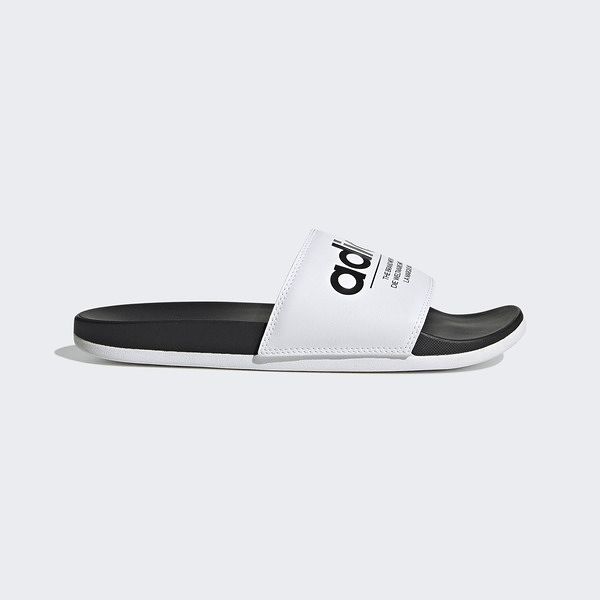 Adidas Adilette Comfort [FX4287] 男女鞋 拖鞋 涼鞋 運動 游泳 海灘 愛迪達 白 黑