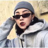 現貨-復古個性女士墨鏡潮流太陽眼鏡封帆同款小方框太陽鏡時尚潮流女士墨鏡復古太陽眼鏡金屬