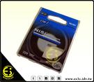ES數位館 NiSi日本耐司 專業級雙面多層鍍膜超薄MC UV保護鏡58mm配合超薄NiSi CPL偏光鏡 減少暗角