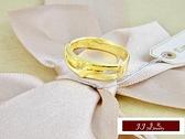 9999純金 黃金金飾 簡約大方 素雅  黃金戒指