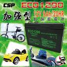 ECO 1290 電池 等同YUASA湯...