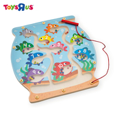 玩具反斗城 UNIVERSE OF IMAGINATION 木製魚缸拼圖組