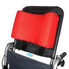 【富士康】輪椅頭靠組 頭靠可調角度 頭靠枕紅色