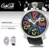 GaGa MILANO 義大利時尚精品腕表 48mm/男女兼用/機械錶/防水/SV/名人著用/5010.2 現+排單/免運!