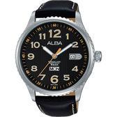 ALBA 雅柏 PRESTIGE 街頭酷流行手錶-黑/45mm VJ43-X036C(AV3509X1)
