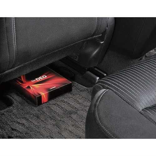 車之嚴選 cars_go 汽車用品【D230】日本CARMATE Dr.DEO 大容量 座椅下置放除菌消臭劑盒 200%加倍消臭